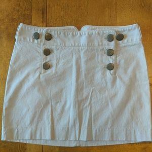 Express khaki mini skirt size 4